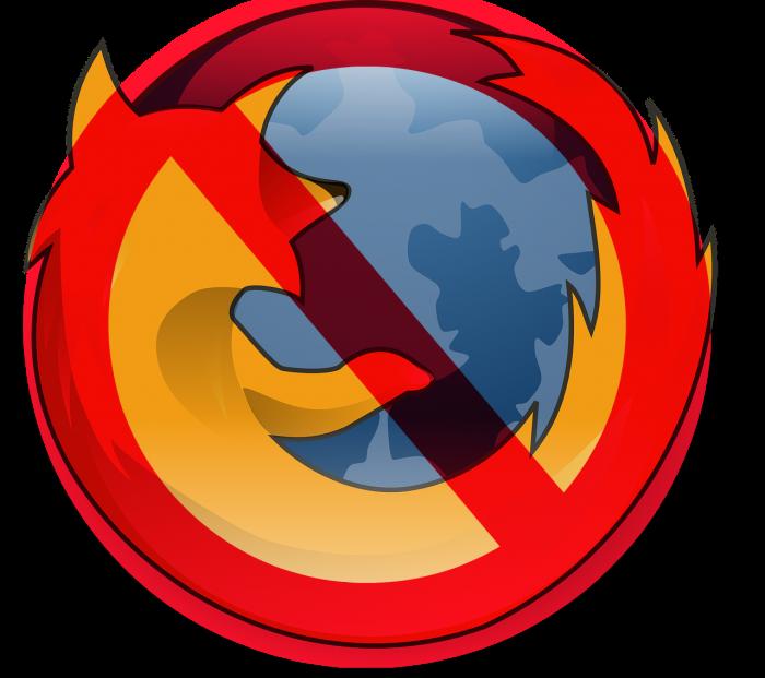Firefox Cons