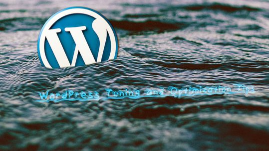 WordPress Tuning and Optimization Tips